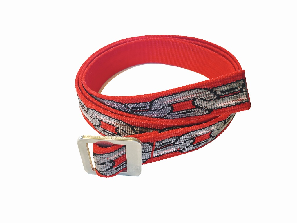 "Black Belt "" CHAIN ""【RED】"