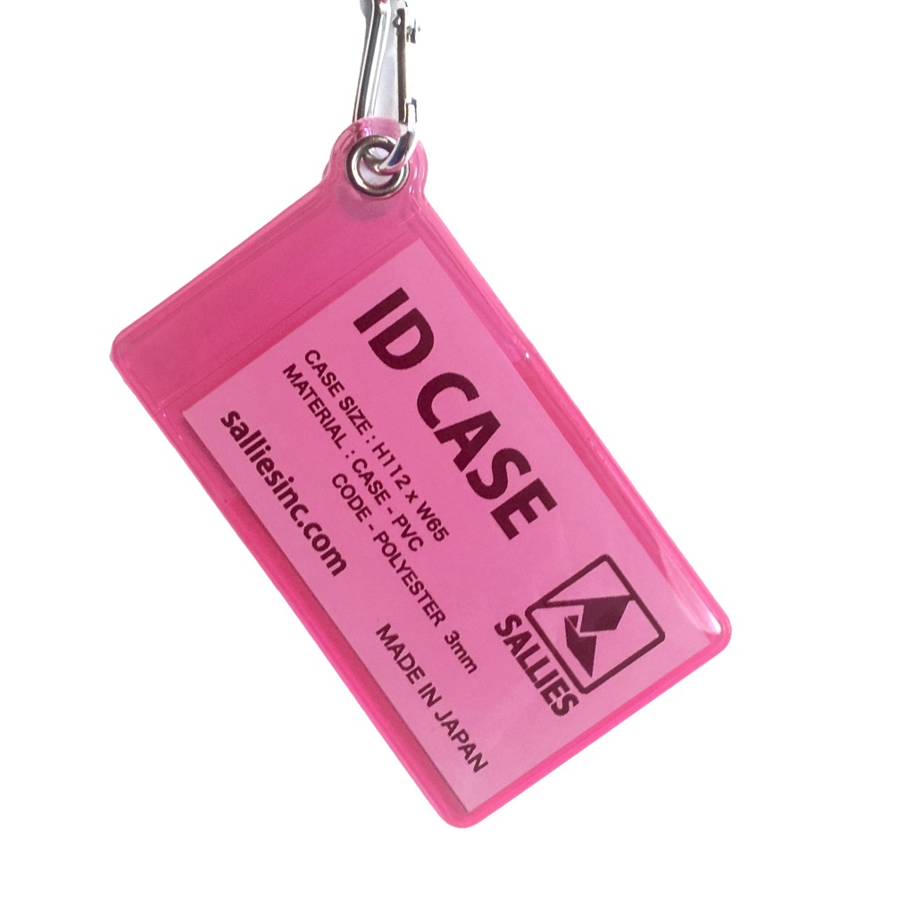 ID CASE 【CLEAR PINK 】