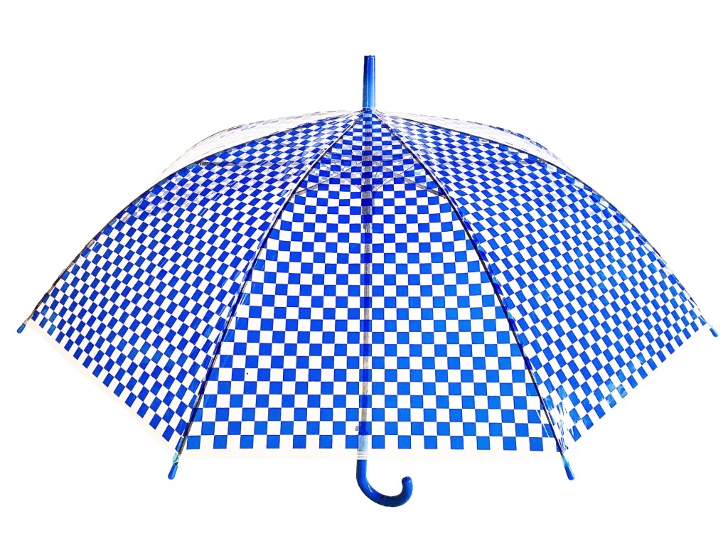 UMBRELLA 【CHECKER / BLUE】