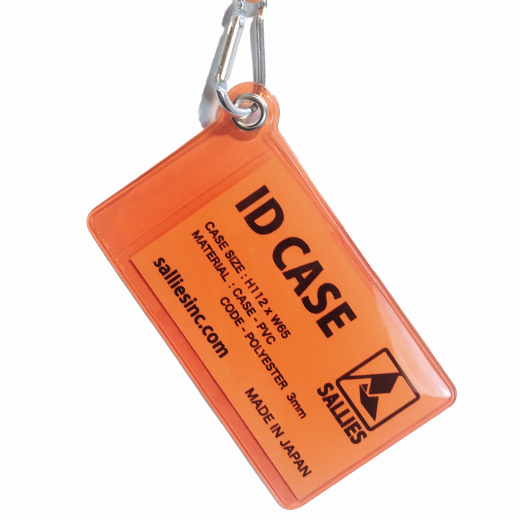 ID CASE 【CLEAR ORANGE】