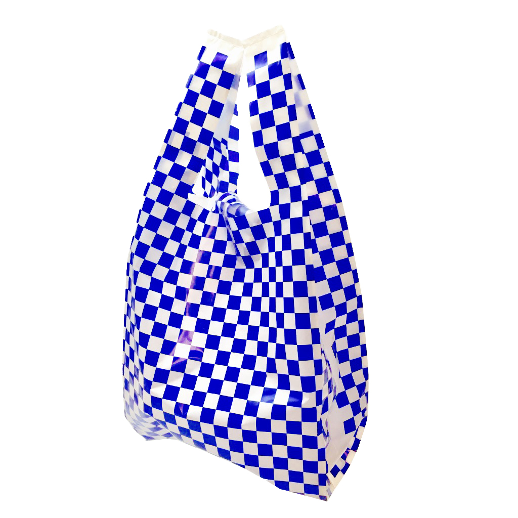 DISPOSABLE FASHION BAG 【CHECKER】